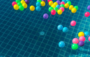 Balloons in Water